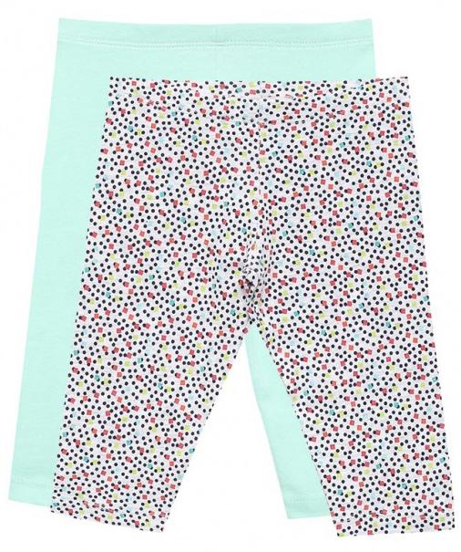 Леггинсы для девочки Sela, цвет: голубой, 2 шт. PLGs-515/156-7253ST-2set. Размер 104PLGs-515/156-7253ST-2setСтильные укороченные леггинсы для девочки Sela станут отличным дополнением к гардеробу юной модницы. Леггинсы выполнены из качественного хлопкового материала и оформлены оригинальным принтом. Модель стандартной посадки на талии имеет пояс на мягкой резинке.Комплект состоит из двух леггинсов.