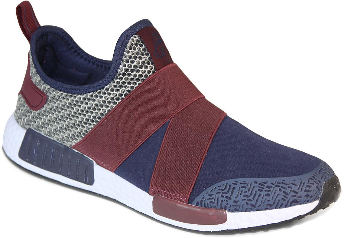 Кроссовки мужские Ego, цвет: темно-синий, бордовый. GT-13723M. Размер 45GT-13723MМужские кроссовки от Ego выполнены из текстиля. Подкладка и стелька из текстиля комфортны при движении. Мыс модели защищен бесшовной накладкой. Эластичные резинки на подъеме обеспечивают идеальную посадку модели на ноге. Подошва дополнена рифлением.