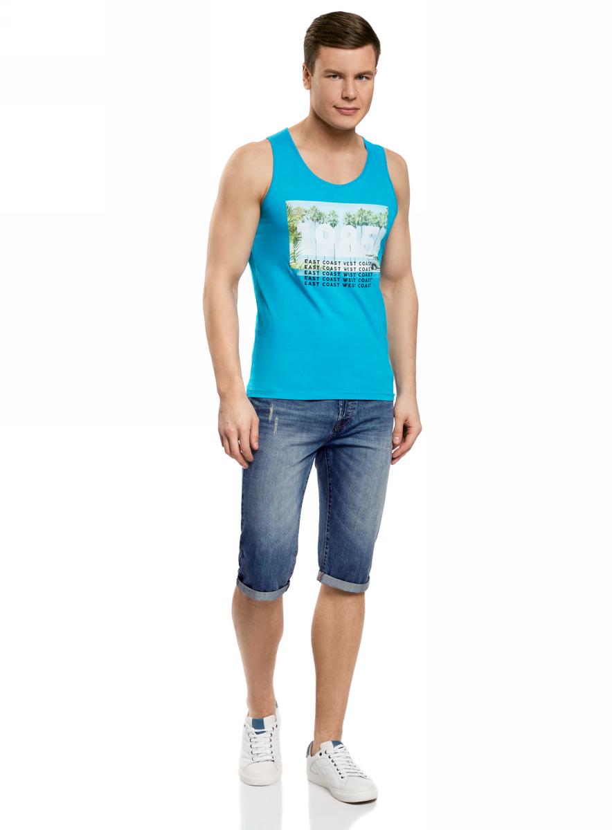 Шорты6L200011M/35771/7500WШорты джинсовые с потертостями