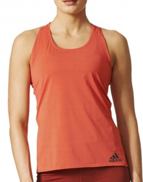 МайкаBP6723Майка женская Adidas Cap Chill Tan1 исполнена из специальной дышащей такни, благодаря чему сохраняет приятное ощущение прохлады даже в самые напряженные моменты тренировки. Эта женская майка отводит излишки тепла, обеспечивает оптимальную вентиляцию и полную свободу движений во время подходов. Свободный крой увеличивает комфорт при быстрой смене упражнений. Майка имеет широкий круглый ворот и светоотражающий логотип adidas с левого нижнего края.