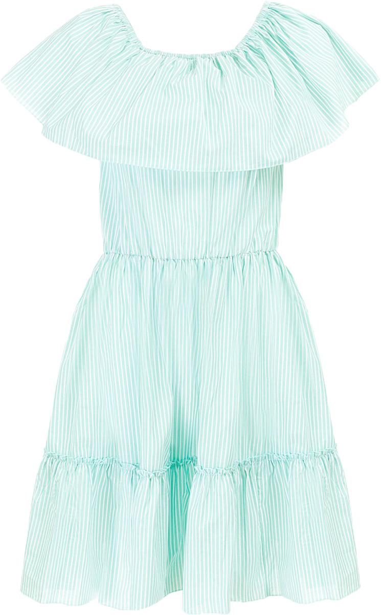 Платье Baon, цвет: синий. B457071_Navy Striped. Размер M (46)B457071_Navy StripedПлатье Baon выполнено из хлопка. Модель имеет эластичные вставки-резинки, расположенные на талии и вдоль выреза горловины.
