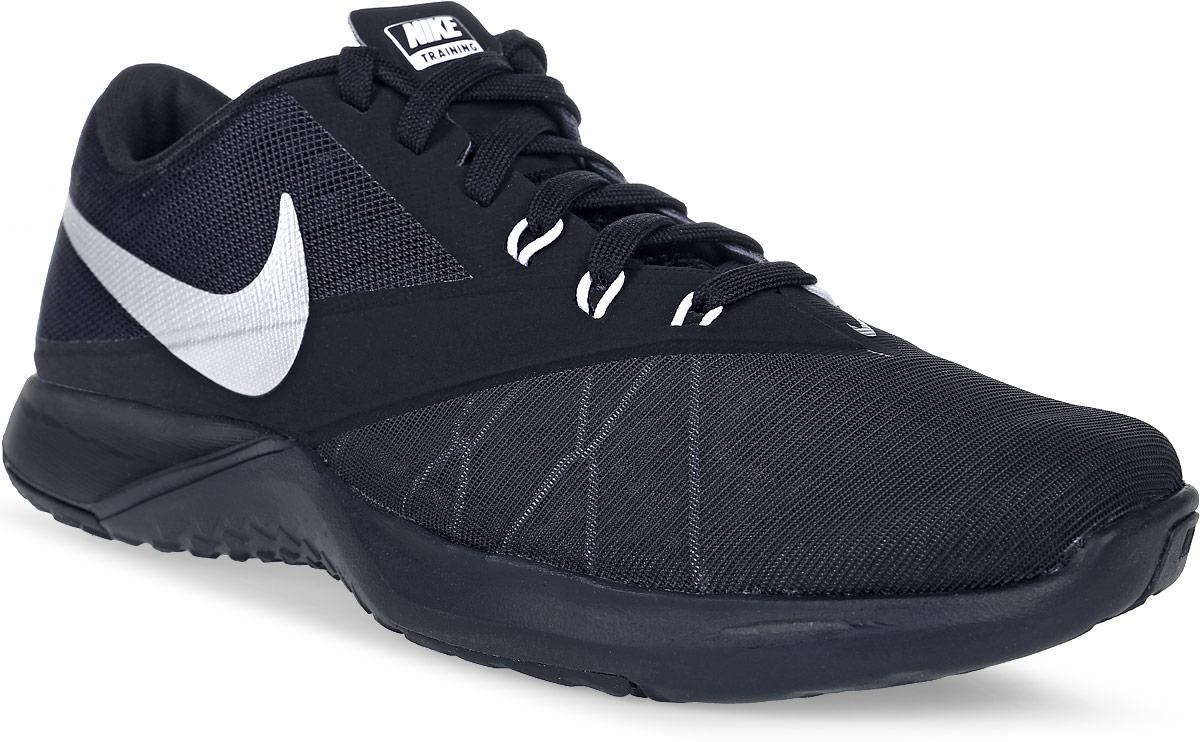 Кроссовки844794-001Мужские кроссовки для фитнеса FS Lite Trainer 4 от Nike выполнены из текстиля и дополнены бесшовными накладками из ПВХ. Технология Flywire с рисунком Звенья цепи обеспечивает надежную фиксацию. Подкладка и стелька из текстиля комфортны при движении. Шнуровка надежно зафиксирует модель на ноге. Подошва из материала двойной плотности обеспечивает амортизацию для боковых рывков. Резиновая подметка со специальными зонами и рельефным рисунком протектора обеспечивает сцепление с поверхностью.