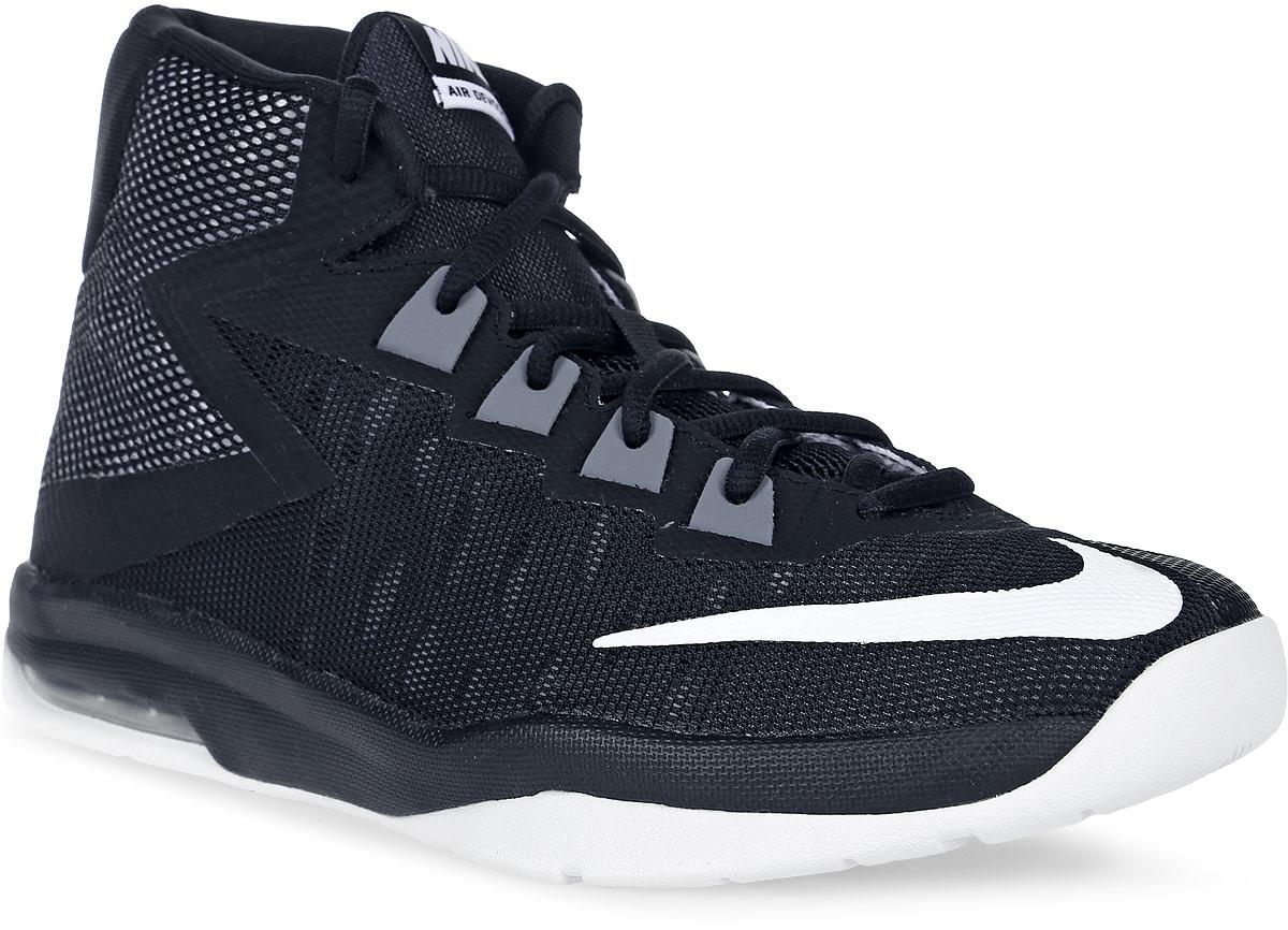 Кроссовки для мальчика Nike Nike Air Devosion Bg, цвет: черный, белый. 845081-001. Размер 6,5 (38,5)845081-001Модные кроссовки для мальчика Air Devosion Bg от Nike выполнены из текстиля и дополнены бесшовными накладками. Подкладка и стелька из текстиля обеспечивают комфорт. Шнуровка надежно зафиксирует модель на ноге. Подошва дополнена рифлением.