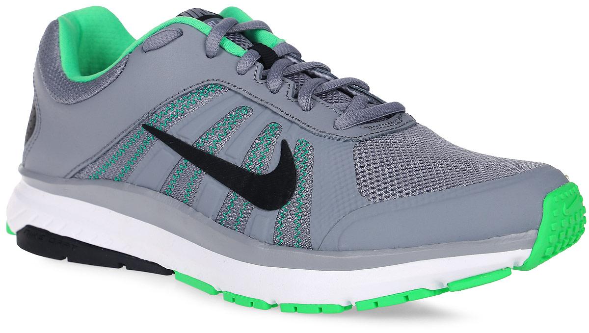 Кроссовки для бега мужские Nike Dart 12, цвет: серый. 831532-014. Размер 7 (39)831532-014Модные мужские кроссовки для бега Dart 12 от Nike, выполненные из текстиля и натуральной кожи, дополнены бесшовными накладками. Подкладка и стелька из текстиля обеспечивают комфорт. Шнуровка надежно зафиксирует модель на ноге. Подошва дополнена рифлением.