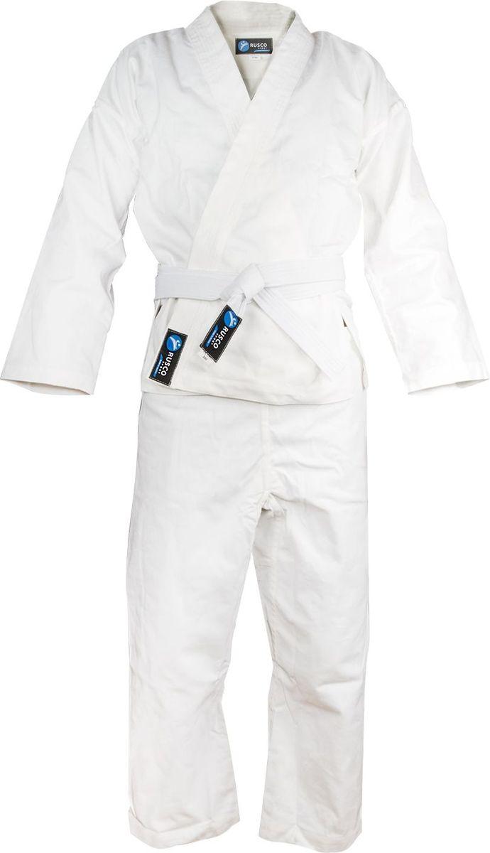 Кимоно для каратеКимоно УТ-0000Кимоно для карате белое - удобная и практичная форма для тренировок и поединков. Идеально подходит для начинающих.