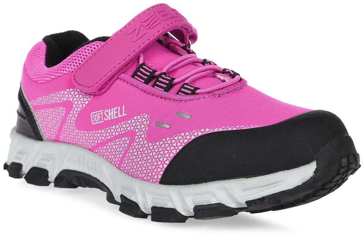 Кроссовки для девочки Зебра, цвет: розовый. 10981-9. Размер 3610981-9Кроссовки от Зебра выполнены из высококачественного текстиля. Классическая шнуровка и застежка-липучка обеспечивают надежную фиксацию обуви на ноге ребенка. Подкладка выполнена из текстиля, а стелька – из натуральной кожи, что предотвращает натирание и гарантирует уют. Подошва из филона дает превосходную амортизацию и упругость, хорошо поддерживает стопу.