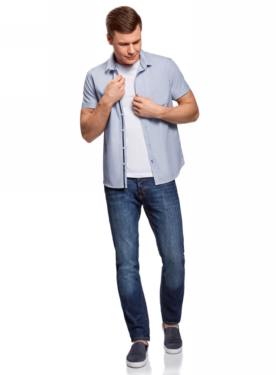 Рубашка3L210047M/44425N/7810GРубашка приталенная с нагрудным карманом