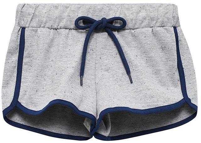 Шорты для девочки Sela, цвет: серый меланж. SHk-615/521-7234. Размер 152, 12 летSHk-615/521-7234Трикотажные шорты для девочки Sela, выполненные из качественного хлопкового материала, идеально подойдут для отдыха, занятий спортом и прогулок. Модель спортивного кроя на талии имеют эластичную резинку, дополнительно регулируемую шнурком. Края дополнены контрастным эластичным кантом. В таких шортах ребенок будет чувствовать себя комфортно и уютно!