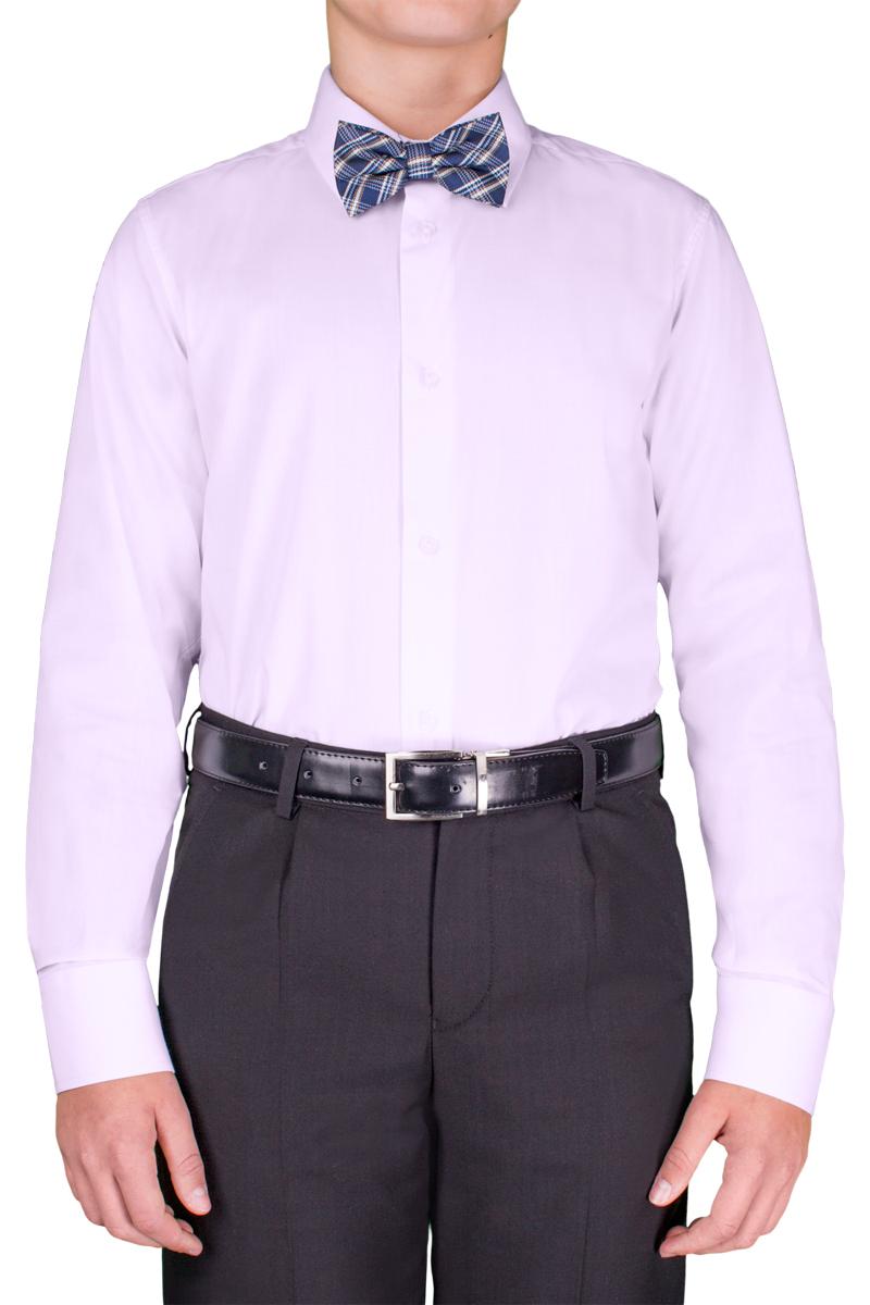 Рубашка для мальчика Orby School, цвет: светло-сиреневый. 70404_OLB_вар.4. Размер 152, 10-11 лет70404_OLB_вар.4Классическая рубашка для мальчика Orby School выполнена из полиэстера и хлопка. Модель приталенного силуэта с отложным воротником и длинными рукавами застегивается спереди на пуговицы. На рукавах предусмотрены манжеты с застежками-пуговицами. Лаконичная прострочка завершает композицию. Такая модель отлично сочетается и с вязаными изделиями, и с пиджаками из костюмной ткани.