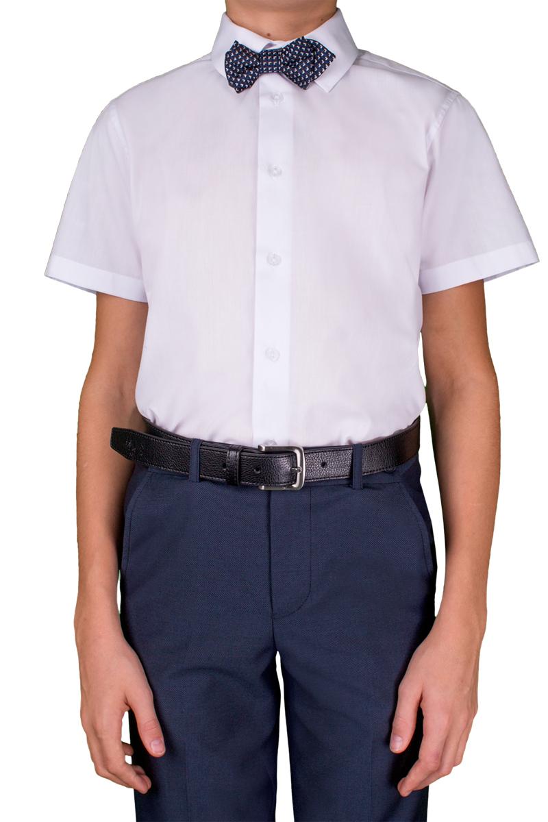 Рубашка для мальчика Orby, цвет: белый. 70405_OLB_вар.1. Размер 152, 10-11 лет70405_OLB_вар.1Стильная рубашка для мальчика Orby идеально подойдет для школы. Она необычайно мягкая, легкая и приятная на ощупь, не сковывает движения малыша и позволяет коже дышать, не раздражает даже самую нежную и чувствительную кожу ребенка, обеспечивая ему наибольший комфорт. Рубашка прямого кроя с коротким рукавом и классическим воротничком застегивается на пуговицы.Такая рубашка - незаменимая вещь для повседневного гардероба.