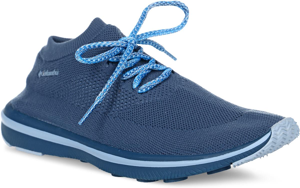Кроссовки женские Columbia Chimera Lace, цвет: темно-синий. 1719231-554. Размер 6,5 (37)1719231-554Легкие женские кроссовки Chimera Lace от Columbia прекрасно подойдут для активного отдыха.Верх модели выполнен из текстильной сетки по бесшовной технологии, благодаря чему обеспечивается комфортная посадка по ноге. Модель фиксируется на ноге шнуровкой. Промежуточная подошва, выполненная из материала Techlite, обеспечивает отличную амортизацию и поддержку. Подметка исполнена из EVA-материала c резиновым протектором.Такие кроссовки отлично подойдут для пеших прогулок и походов.