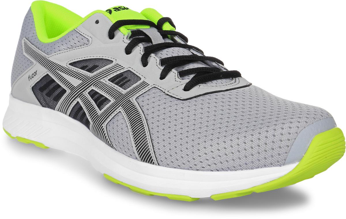 Кроссовки для бега мужские Asics Fuzor, цвет: серый. T6H4N-9690. Размер 8 (40)T6H4N-9690Выберите стиль, который позволит вам отлично выглядеть и использовать все преимущества спортивной обуви. Эти легкие беговые кроссовки для мужчин обеспечивают комфорт за счет дышащего сетчатого верха. Кроссовки Asics Fuzor одинаково хорошо выглядят и работают на тротуарах города и на пересеченной местности. Дышащая сетка для чувства прохлады. Комфорт каждодневных пробежек благодаря легкой амортизации.