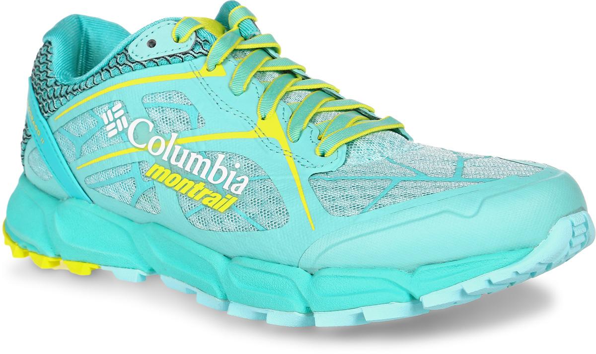 Кроссовки женские Columbia Caldorado, цвет: бирюзовый. 1747191-307. Размер 7,5 (38)1747191-307Легкие женские кроссовки Caldorado от Columbia прекрасно подойдут для занятий спортом и активного отдыха. В комфортных кроссовках Caldorado вам обеспечено идеальное сочетание поддержки, амортизации и сцепления с поверхностями.Верх модели выполнен из текстильной сетки с вшитым язычком, что гарантирует отличную посадку по ноге. Предусмотрена защита мыска и усиленный бампер. Модель фиксируется на ноге шнуровкой. Анатомическая стелька исполнена из мягкого ЭВА-материала с текстильной поверхностью. Подкладка из полиэстера обеспечит сухость и комфорт. Промежуточная подошва, выполненная из материала Techlite, обеспечивает отличную амортизацию и поддержку. Запатентованная технологияFluid GUIDE улучшает стабильность стопы и обеспечивает плавность хода. Полноразмерная резиновая подметка. Пластина Trail SHIELD защищает стопу от ударов, при этомсохраняется отличная гибкость благодаря специальным канавкам в носочной части. Разнонаправленный рисунокпротектора обеспечивает хорошее сцепление на разных рельефах.Кроссовки Columbia Coldorado - это идеальный выбор для бега по пересеченной местности.