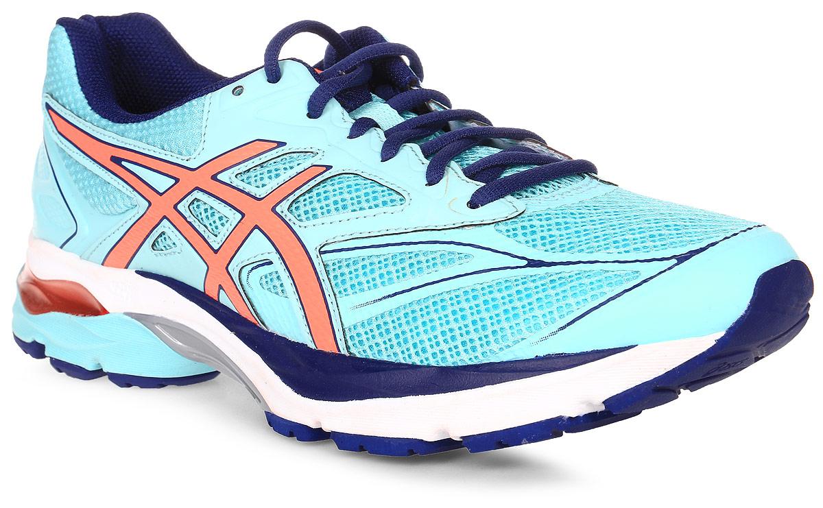 Кроссовки для бега женские Asics Gel-Pulse 8, цвет: голубой. T6E6N-6706. Размер 9H (40)T6E6N-6706Пробегайте любимые маршруты быстрее в удобных кроссовках Asics Gel-Pulse 8. Эти женские беговые кроссовки имеют амортизацию в задней и передней части подошвы и смягчают каждое приземление стопы. Вашей ноге легче и приятнее отталкиваться от земли благодаря средней подошве Super SpEVA с отличной отдачей, что позволяет бегать быстрее и эффективнее. Невероятный комфорт благодаря упругой средней подошве и видимой амортизационной прослойке GEL. Высокая эффективность бега благодаря гибким бороздкам, направляющим каждое движение ноги. Спокойный и комфортный бег благодаря прекрасной отдаче от средней подошвы Super SpEVA.