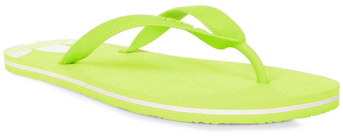 Сланцы женские adidas Adisun W, цвет: желтый. BB5107. Размер 6 (38)BB5107Минималистский дизайн для максимально летнего стиля. Лаконичные женские сланцы для солнечной погоды. Контрастный трилистник на пятке с декоративными вырезами подчеркивает аутентичность образа adidas Originals. Ремешки из термополиуритана, гибкая подошва из ЭВА.