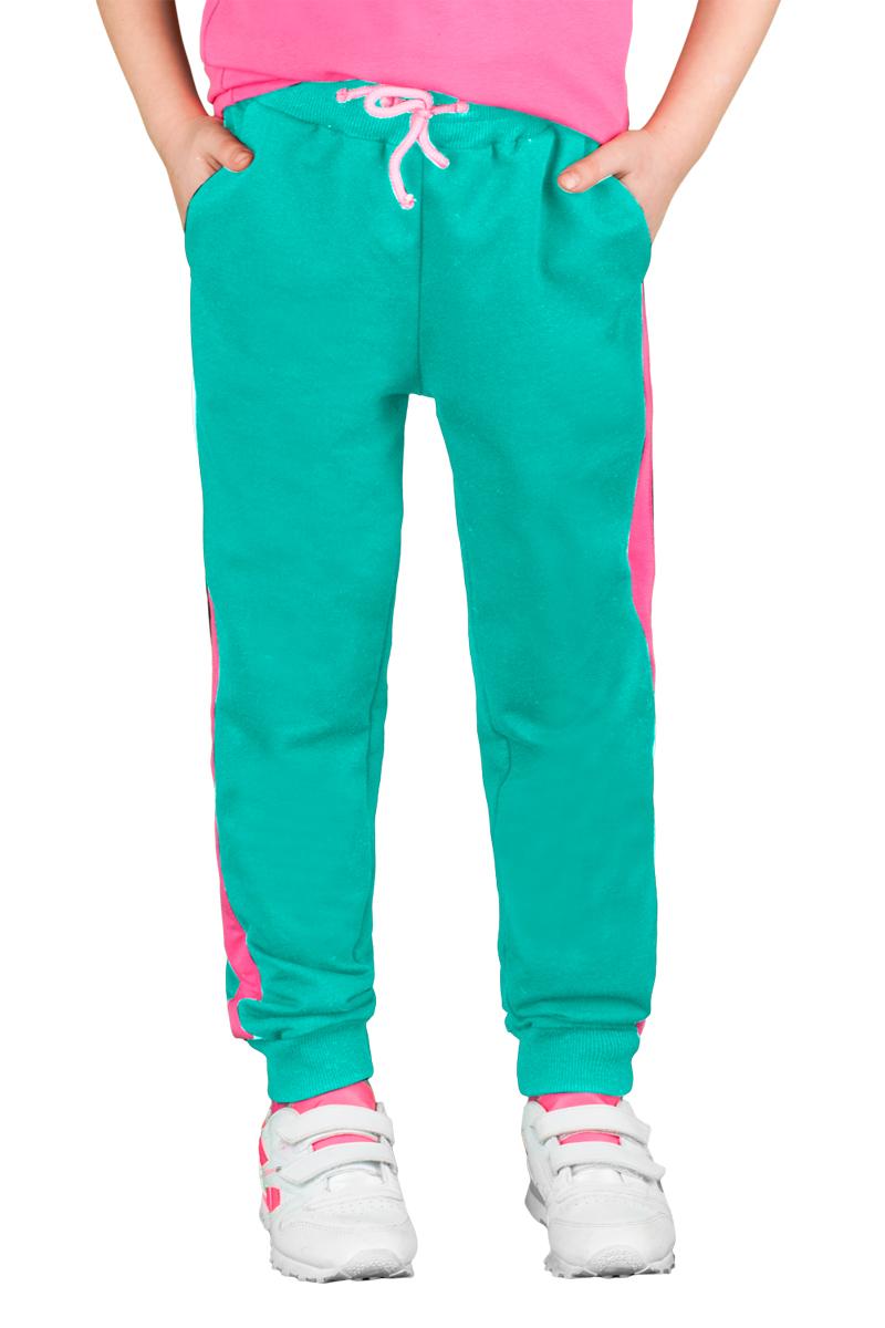 Брюки спортивные для девочки Boom!, цвет: зеленый, розовый. 70800_BLG_вар.2. Размер 164, 12-13 лет70800_BLG_вар.2Спортивные брюки для девочки Boom! выполнены из хлопка с добавлением полиэстера и лайкры. Модель снабжена резинкой на талии с затягивающимся шнурком для регулировки посадки и боковыми карманами, дополнена лампасами розового цвета. Низ брючин отделан эластичным материалом. Модель имеет свободный крой и не стесняет движений. Удобные и практичные брюки отлично подходят для занятий физкультурой и летних прогулок.