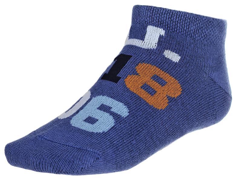 Носки детские Baykar, цвет: синий, 2 пары. 135912-9. Размер 10,5/12, 6-12 месяцев135912-9Детские носки Baykar изготовлены из высококачественного эластичного хлопка с добавлением полиамида. Укороченные носки имеют эластичную резинку, которая надежно фиксирует носки на ноге. В комплект входит 2 пары носков.