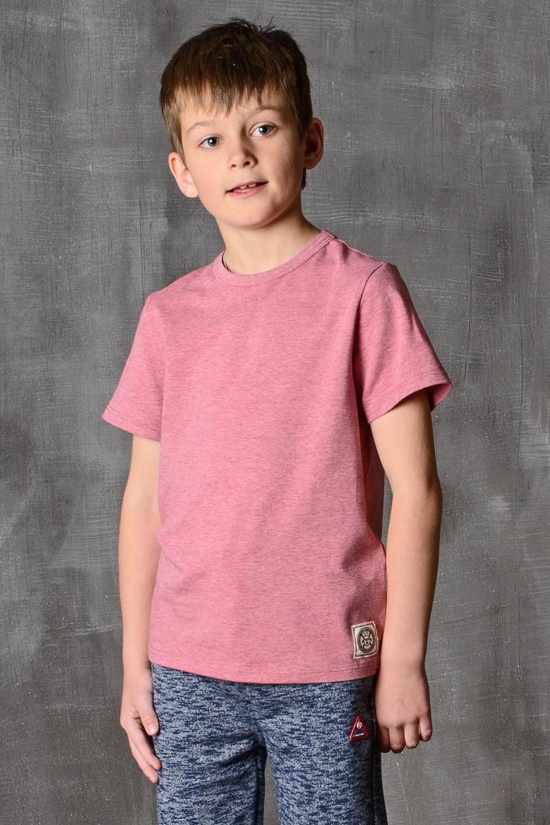 Футболка для мальчика Modniy Juk, цвет: бордовый. 01B00110102. Размер 158/16401B00110102/MODNIY_JUK/Стильная футболка для мальчика Modniy Juk изготовлена из высококачественного легкого хлопка, она приятна на ощупь, не раздражает нежную и чувствительную кожу ребенка, позволяя ей дышать. Модель имеет полуприлегающий силуэт, круглый вырез горловины не стесняет движения. Изделие дополнено ярким принтом в стиле Modniy Juk.