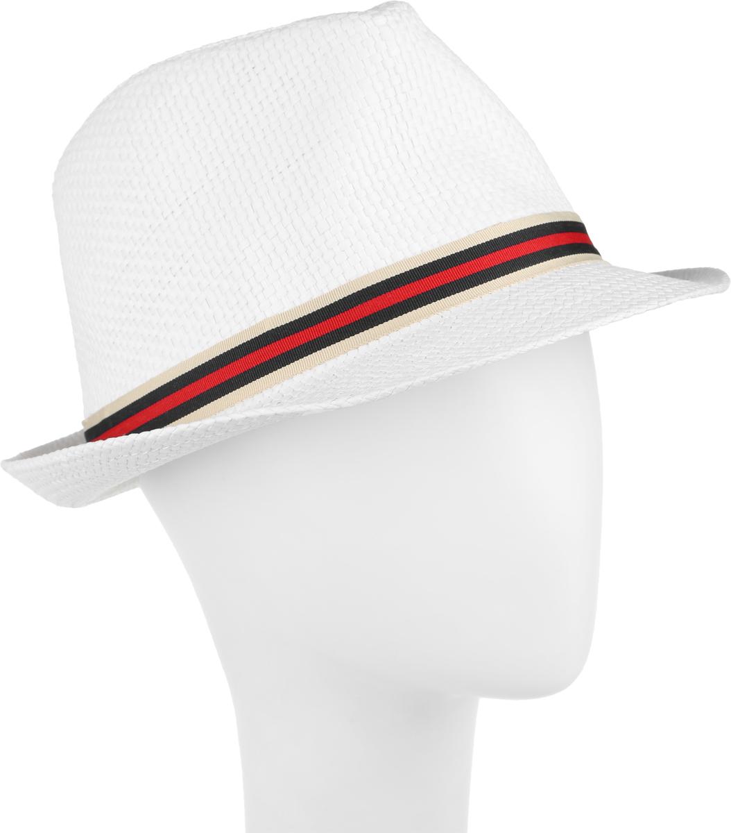 Шляпа женская Fabretti, цвет: белый. V2-4. Размер универсальныйV2-4 WHITEСтильная шляпа от Fabretti для пляжного отдыха и прогулок в солнечные дни.