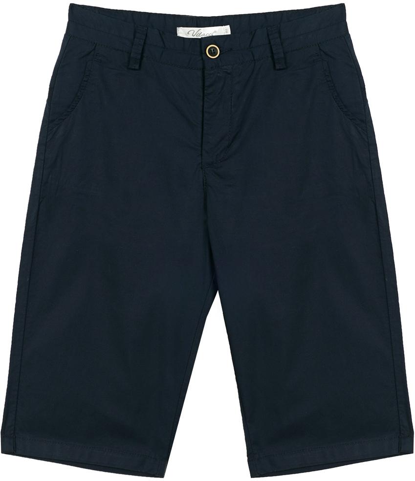 Шорты для мальчика Vitacci, цвет: темно-синий. 1172006-04. Размер 1401172006-04Удобные летние шорты для мальчика из качественного материала отлично подойдут для отдыха и занятия спортом, универсальный цвет позволяет комплектовать с футболкой любого цвета.