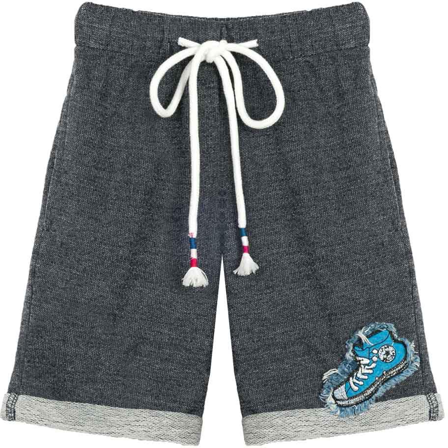 Шорты для мальчика Vitacci, цвет: темно-серый. 1172094-04. Размер 1161172094-04Удобные летние шорты для мальчика из качественного материала отлично подойдут для отдыха и занятия спортом, универсальный цвет позволяет комплектовать с футболкой любого цвета.