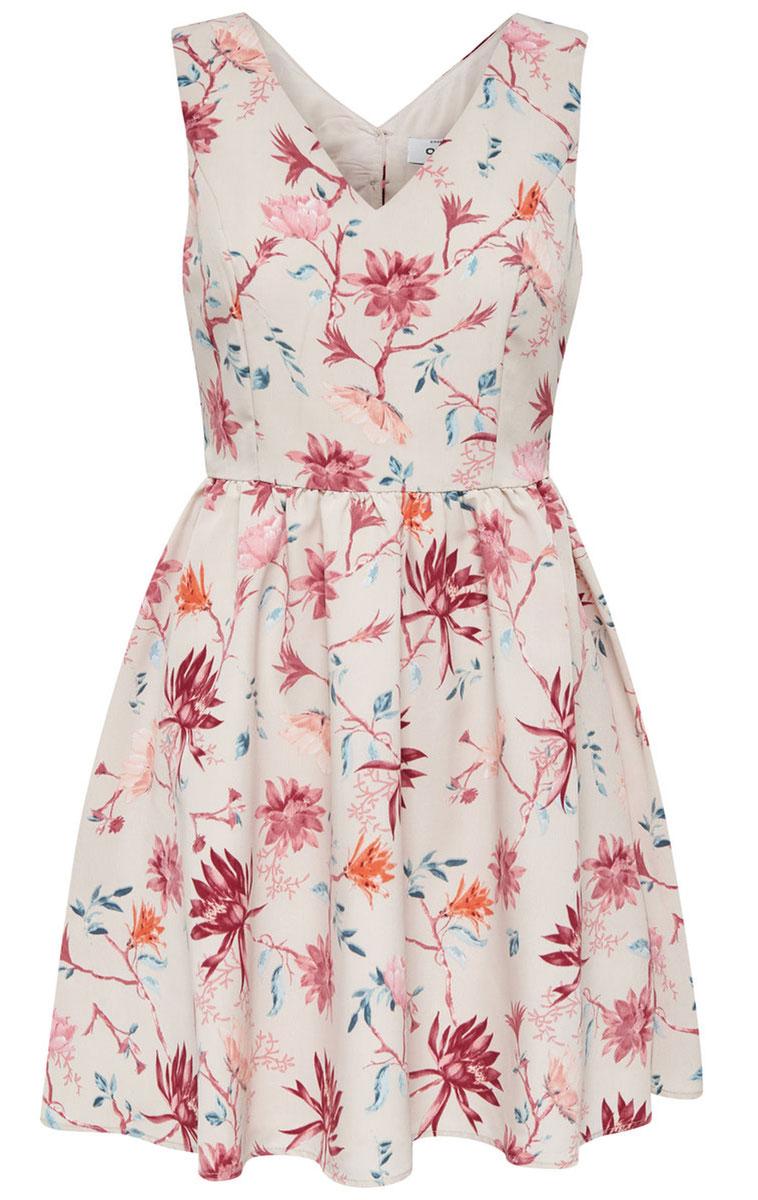 Платье женское Only, цвет: розовый. 15135255_Pink Tint. Размер 34 (40)15135255_Pink TintНежное женское платье Only без рукавов с симпатичным V-образным вырезом, станет прекрасным дополнением к Вашему гардеробу. Платье приталенное, оно предаст еще более привлекательный силуэт своей владелице. Данная модель прекрасно освежит ваш летний гардероб.