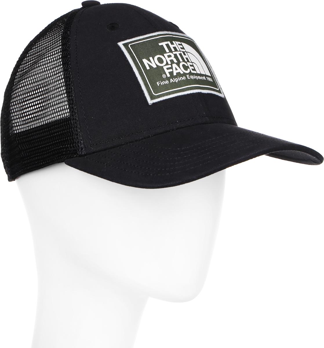 Бейсболка The North Face Mudder Trucker Hat, цвет: черный. T0CGW2SEY. Размер универсальныйT0CGW2SEYСтильная бейсболка The North Face Mudder Trucker Hat, выполненная из натурального хлопка, идеально подойдет для прогулок, занятия спортом и отдыха. Она надежно защитит вас от солнца и ветра. Классическая кепка с сетчатой задней частью станет правильным выбором. Изделие оформлено нашивкой с логотипом бренда. Объем бейсболки регулируется пластиковым фиксатором.Ничто не говорит о настоящем любителе путешествий больше, чем любимая кепка - такая как эта классическая кепка Mudder Trucker Hat, выполненная в состаренном винтажном стиле. Эта модель станет отличным аксессуаром и дополнит ваш повседневный образ.