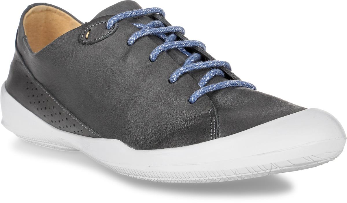 Кеды женские TBS Vespper, цвет: темно-серый. VESPPER-C7202. Размер 41 (40)VESPPER-C7202Стильные женские кеды Vespper от TBS - это легкость и свобода движения каждый день! Функциональные, практичные, удобные, они подходят для городской жизни и активного отдыха. Дизайн обуви позволяет носить ее под одежду любого стиля. Модель выполнена из натуральной кожи и оформлена прострочкой и перфорацией. Мысок защищен резиновой накладкой. Внутренняя отделка и стелька исполнены из натуральной кожи. Шнуровка надежно фиксирует изделие на ноге. Резиновая подошва с рельефной поверхностью обеспечивает идеальное сцепление. В таких кедах вы всегда будете выглядеть модно и стильно.