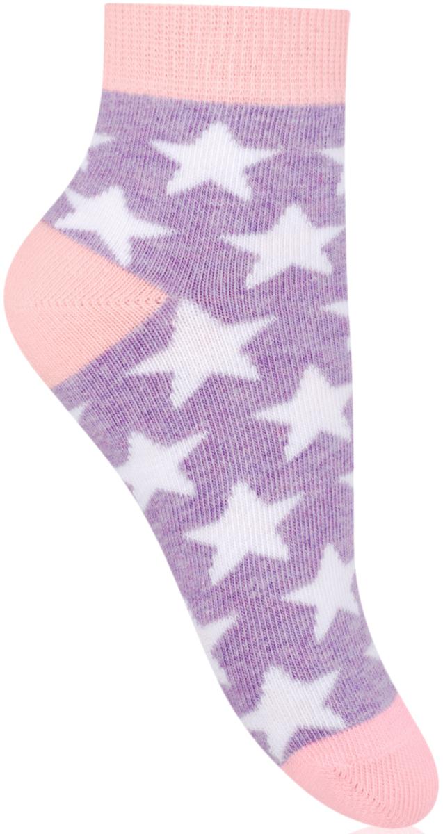 Носки для девочки Steven, цвет: фиолетовый, розовый. 004 (RE113). Размер 26/28004 (RE113)/004 (RF113)/004 (RG113)Носки Steven изготовлены из качественного материала на основе хлопка. Модель имеет мягкую эластичную резинку. Носки хорошо держат форму и обладают повышенной воздухопроницаемостью.