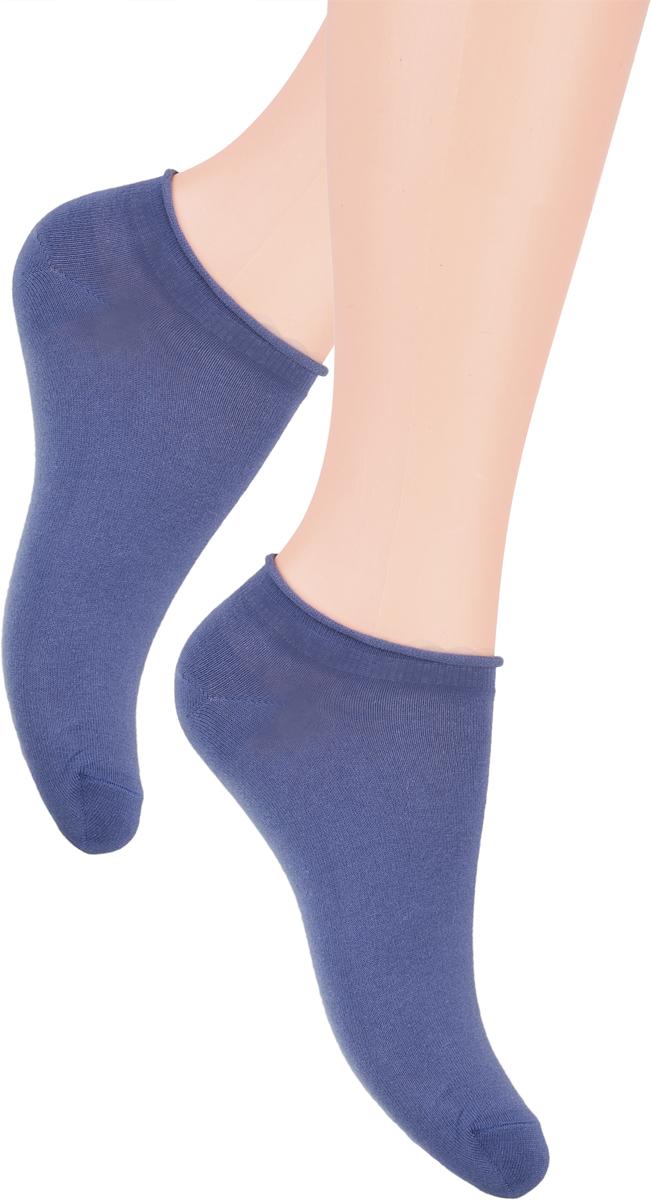 Носки женские Steven, цвет: джинсовый. 041 (GZ15). Размер 35/37041 (GZ15)/041 (GX15)Носки Steven изготовлены из качественного материала на основе хлопка. Укороченная модель имеет мягкую эластичную резинку. Носки хорошо держат форму и обладают повышенной воздухопроницаемостью.