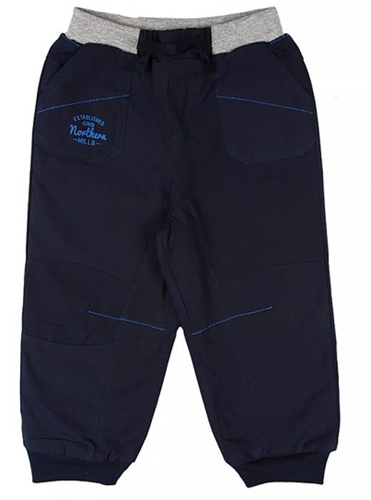 Брюки для мальчика Cherubino, цвет: темно-синий. CB 7T046. Размер 92CB 7T046Текстильные брюки для мальчика Cherubino, на подкладке из флиса. Изделие имеет трикотажный пояс на шнуровке, надежно фиксирующий брюки и не сдавливающую животик ребенка. Манжеты по низу брючин. Имеются карманы.