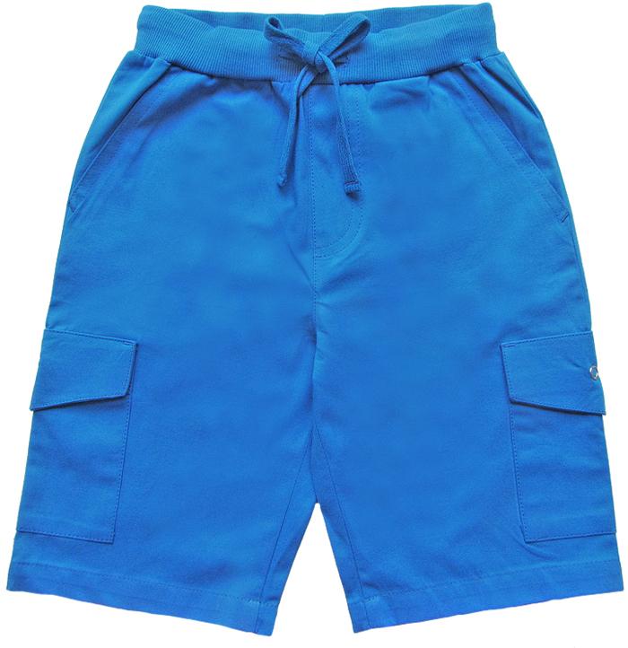Шорты для мальчика Cherubino, цвет: синий. CK 7T065 (155). Размер 122CK 7T065 (155)Шорты для мальчика Cherubino из хлопка. Они мягкие и приятные на ощупь, не раздражают нежную и чувствительную кожу ребенка, хорошо пропускают воздух. Изделие имеет мягкую широкую резинку, надежно фиксирующую шортики и не сдавливающую животик ребенка. Для дополнительного удобства талия шорт оснащена затягивающимся шнурком. Накладные карманы с клапаном по бокам.