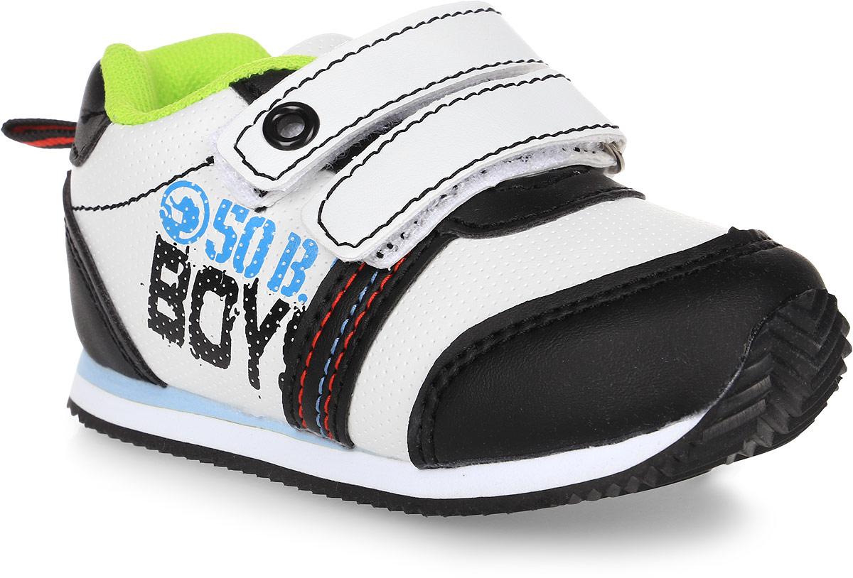 Кроссовки для мальчика Tom&Miki, цвет: черный. B-1047. Размер 22B-1047-AКроссовки для мальчика Tom&Miki изготовлены из качественной искусственной кожи. Липучки надежно зафиксируют обувь на ноге. Мягкая подкладка выполнена из кожи и текстиля. Подошва оснащена рифлением для лучшего сцепления с различными поверхностями. Такие кроссовки - отличный вариант на каждый день.