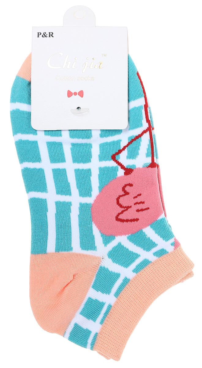 Носки женские Kawaii Factory Фламинго, цвет: голубой, розовый. 2006000073202. Размер 35/392006000073202Носки Kawaii Factory изготовлены из качественного материала на основе хлопка. Носки хорошо держат форму и обладают повышенной воздухопроницаемостью.