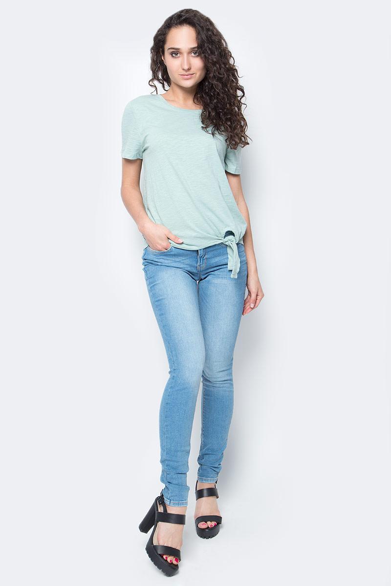 Джинсы женские Tom Tailor, цвет: синий. 6205364.09.71_1051. Размер 29-32 (44/46-32)6205364.09.71_1051Женские джинсы Tom Tailor выполнены из высококачественного материала. Модель на талии застегивается на металлическую пуговицу и имеет ширинку на застежке-молнии, а также шлевки для ремня. Джинсы имеют классический пятикарманный крой: спереди два втачных кармана и один накладной кармашек, а сзади - два накладных кармана.
