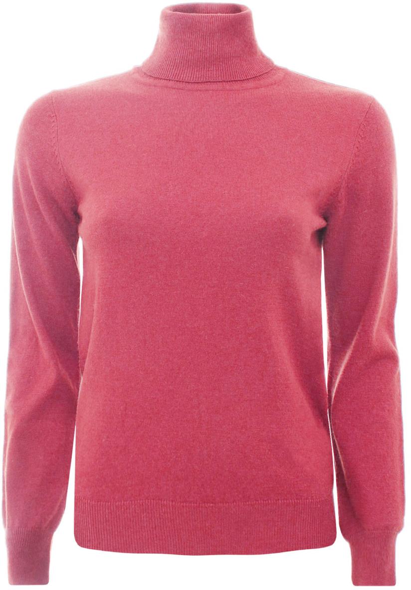 Свитер жен oodji Collection, цвет: розовый. 74412134-1/35159/4100N. Размер 44 (50)74412134-1/35159/4100NСвитер