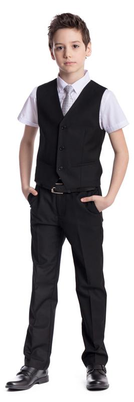 Рубашка для мальчика Scool, цвет: белый. 373444. Размер 128, 8 лет373444Рубашка для мальчика Scool изготовлена из хлопка и полиэстера. Лекало этой модели полностью повторяет лекало модели для взрослого мужчины. Рубашка с отложным воротником и короткими рукавами застегивается на пуговицы. На груди расположены накладные карманы. Модель хорошо сочетается с костюмом в деловом стиле и джинсами.