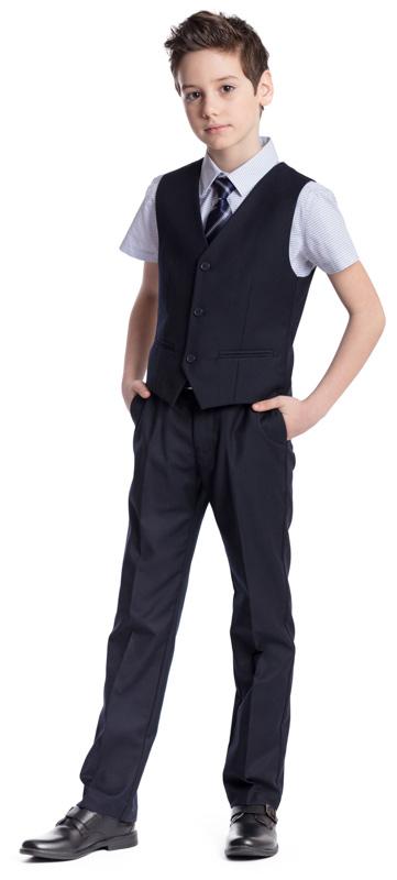 Рубашка для мальчика Scool, цвет: голубой. 373442. Размер 164, 14 лет373442Рубашка для мальчика Scool изготовлена из хлопка и полиэстера. Лекало этой модели полностью повторяет лекало модели для взрослого мужчины. Рубашка с отложным воротником и короткими рукавами застегивается на пуговицы. Модель хорошо сочетается с костюмом в деловом стиле и джинсами.