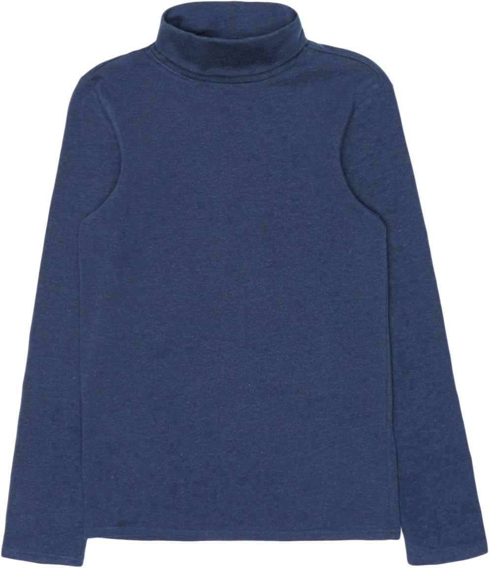 Джемпер для мальчиков Acoola Cowslip, цвет: темно-синий. 20110100081_600. Размер 13420110100081_600Базовая водолазка с воротником-гольф, выполненная из меланжевого эластичного трикотажа.