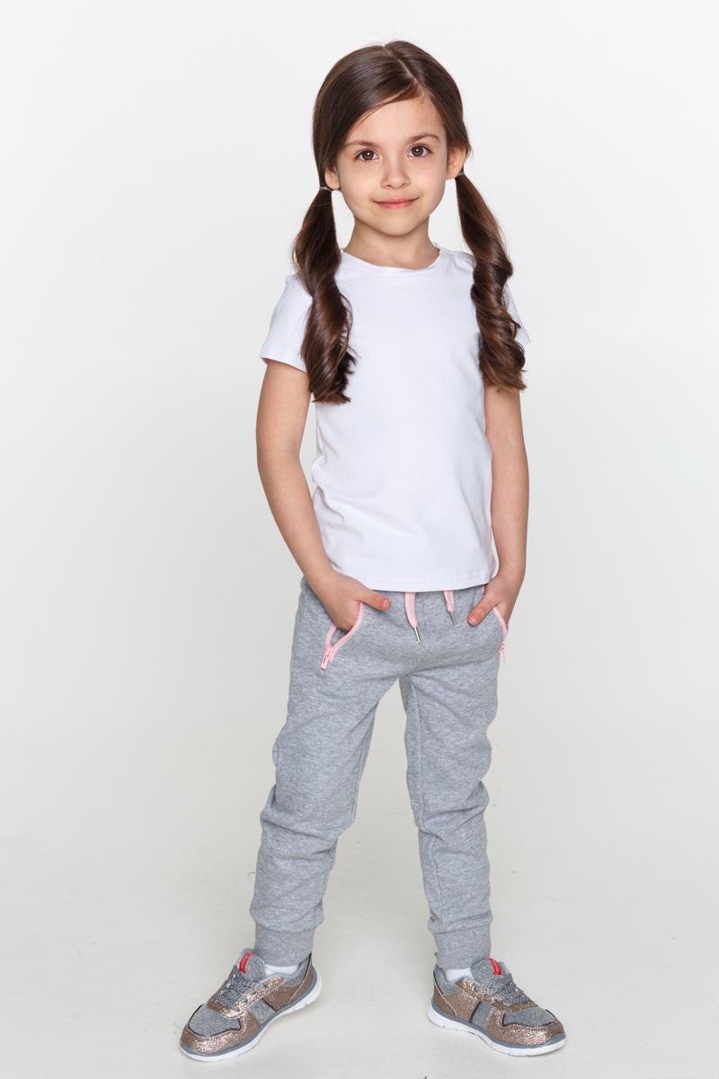 Футболка для девочек Acoola Cher, цвет: белый. 20220110097_200. Размер 11620220110097_200Базовая белая футболка из эластичного трикотажа. Модель с круглым вырезом горловины.
