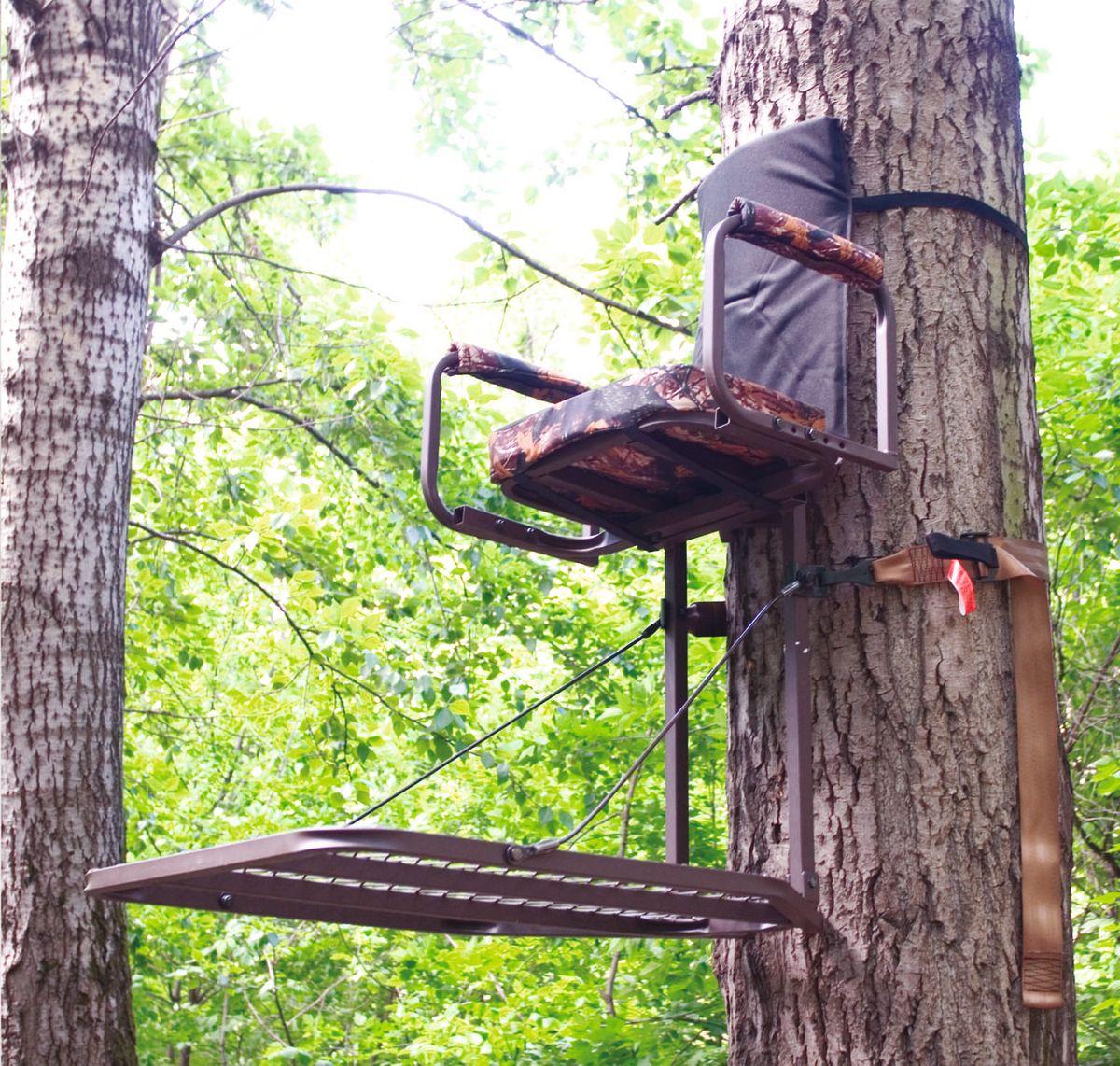 Засидка на дереве своими руками