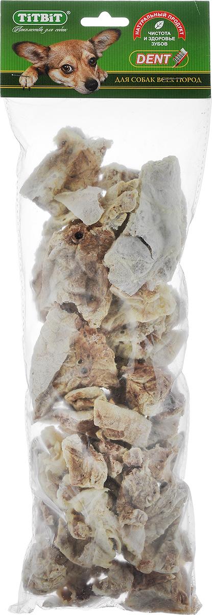 Лакомство для собак всех пород Titbit, легкое говяжье, размер XXL319373Лакомство для собак Titbit содержит кусочки высушенного говяжьего легкого. Высокое содержание микроэлементов и соединительной ткани дополняет удовольствие собаки от нежного лакомства. Легкие очень вкусны, малокалорийны и замечательно усваиваются организмом. Легкие содержат практически такой же набор витаминов, как и мясо, но зато гораздо менее жирные. Оказывают положительное воздействие на состояние кожи, шерсти и общий обмен веществ. Рекомендации к применению: кусочки очень удобно использовать в качестве поощрения при дрессуре, и просто на прогулках. Для собак всех пород и возрастов. Особенно рекомендуется для собак с неполной зубной формулой и возрастными изменениями зубочелюстного аппарата. Благодаря вкусовым качествами воздушной структуре является одним из самых любимых лакомств для наших четвероногих друзей. Состав: высушенные кусочки говяжьего легкого. Средний размер лакомства: 4,5 см х 3,5 см х 2 см. Товар сертифицирован.