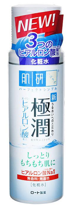 Hada Labo Лосьон-гидратор, для сухой и нормальной кожи лица, 170 мл127016Увлажняющий лосьон для сухой и нормальной кожи лица с гиалуроновой кислотой. Быстро впитывается, не закупоривает поры, обладает матирующим эффектом, снимает покраснения и раздражения. Янтарная кислота, входящая в состав лосьона, оказывает мощнейшее оздоровительное действие, не вызывая побочных эффектов и привыкания. Лосьон не содержит минеральных масел, алкоголя, красителей или отдушек. Способ применения : использовать после умывания (очищения кожи). 2-3 капли средства нанести на лицо похлопывающими движениями. Характеристики: Объем: 170 мл. Артикул: 127016. Производитель: Япония. Товар сертифицирован.