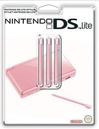 Стилус для Nintendo DS Lite (розовый) 3 шт.6959144000350Комплект из трех оригинальных стилусов для Nintendo DS Lite.