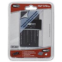 Комплект из 3 элементов для защиты экрана Sony PSP/PSP SlimPSPKITКомплект из 3 элементов для защиты экрана Sony PSP/PSP Slim.