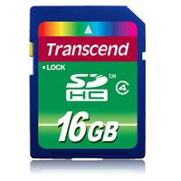 Transcend SDHC Class 4 16GBTS16GSDHC4Карта Transcend SDHC Class 4 может использоваться в качестве носителя информации в современных цифровых камерах, поддерживающих формат SDHC.Внимание: перед оформлением заказа, убедитесь в поддержке Вашим электронным устройством карт памяти данного объема.