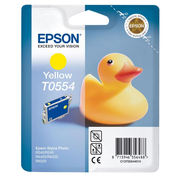 Epson C13T05544010 YellowC13T05544010Картридж Epson с чернилами для струйной печати.