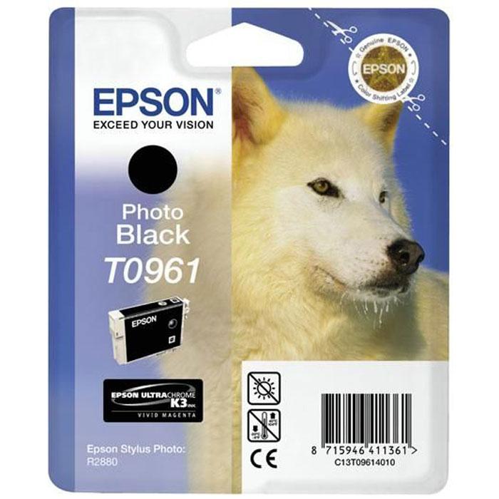 Epson C13T09614010 Photo BlackC13T09614010Картридж Epson с цветными чернилами для струйной печати. Емкость: 11.4 мл