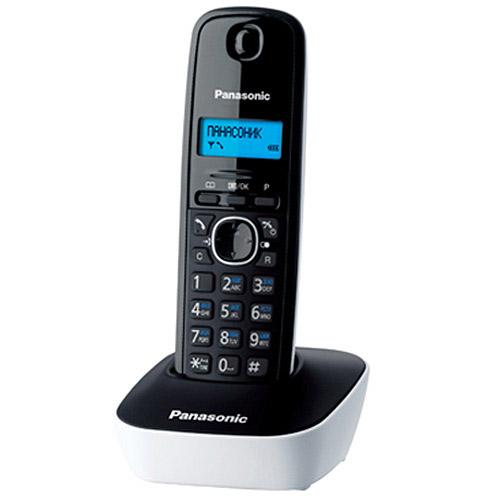 Panasonic KX-TG1611 RUW, White KX-TG1611RUW
