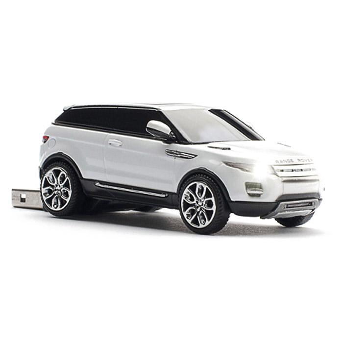 Click Car Stick Range Rover Evoque 8GBCCS660240Click Car Stick Range Rover Evoque разработан специально для поклонников марки Range Rover. Миниатюрный накопитель детально проработан и является точной копией оригинальной модели Evoque. Все Click Car Stiks раскрашены и собраны вручную. При подключении к устройствам у флешки зажигаются фары и задние стоп-сигналы. Микросхемы Флеш-дисков Car Mouse Stick изготовлены по UDP технологии, позволяющей значительно уменьшить размеры устройства и повысить устойчивость к механическим повреждениям, а также воздействию воды.
